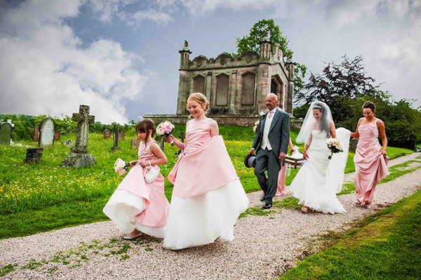 Wedding day photograph Cumbria